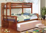 Furniture of America CMBK458QOAKBED