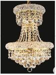 J & P Crystal Lighting SP1800D16G