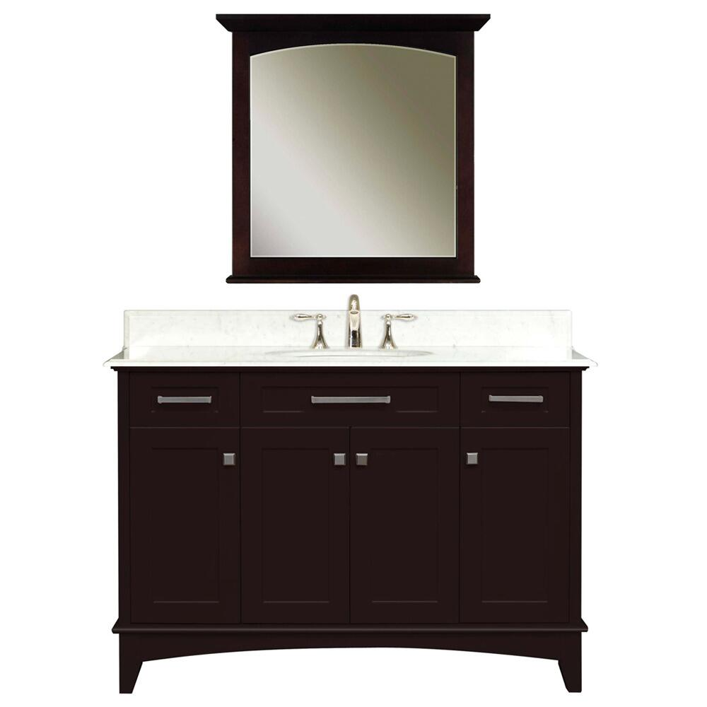 Water creation manhattan48c appliances connection for Bathroom vanity packages