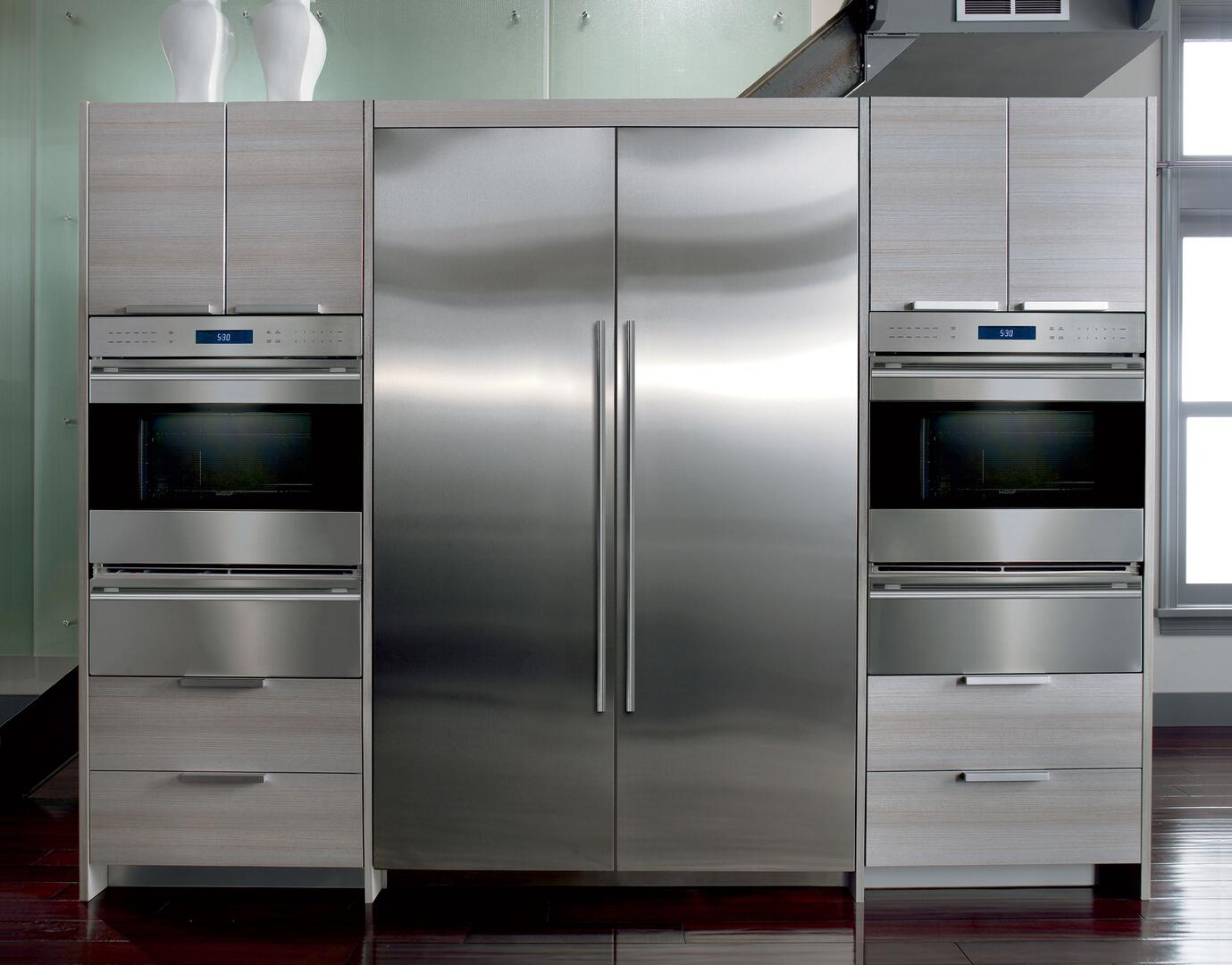 Sub zero counter depth refrigerator -  Sub Zero Shown In Stainless Steel With Matching Unit
