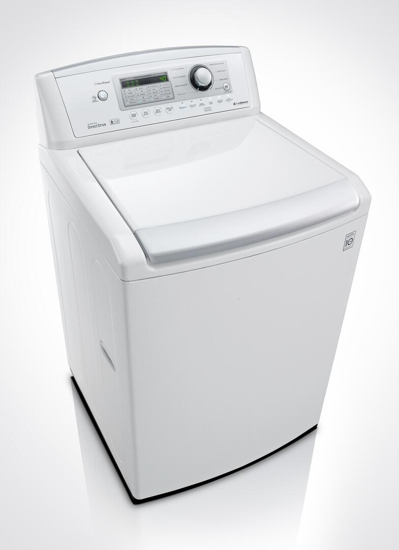 Lg Washer Wt4970cw Lg 4 7 Top Load Washer Appliances