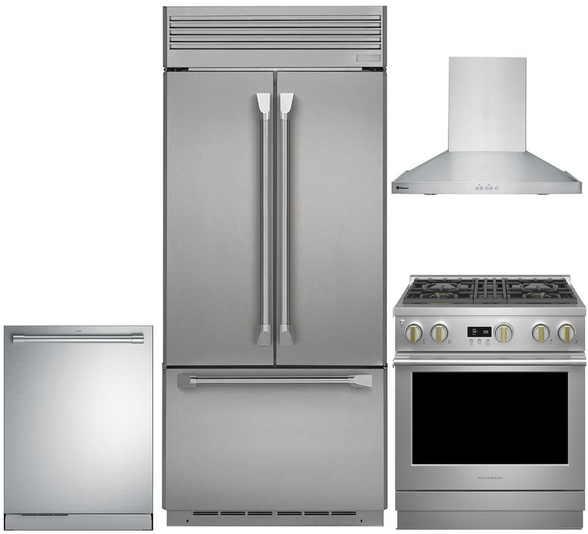 Ge Kitchen Appliances ~ Ge monogram kitchen appliance packages appliances