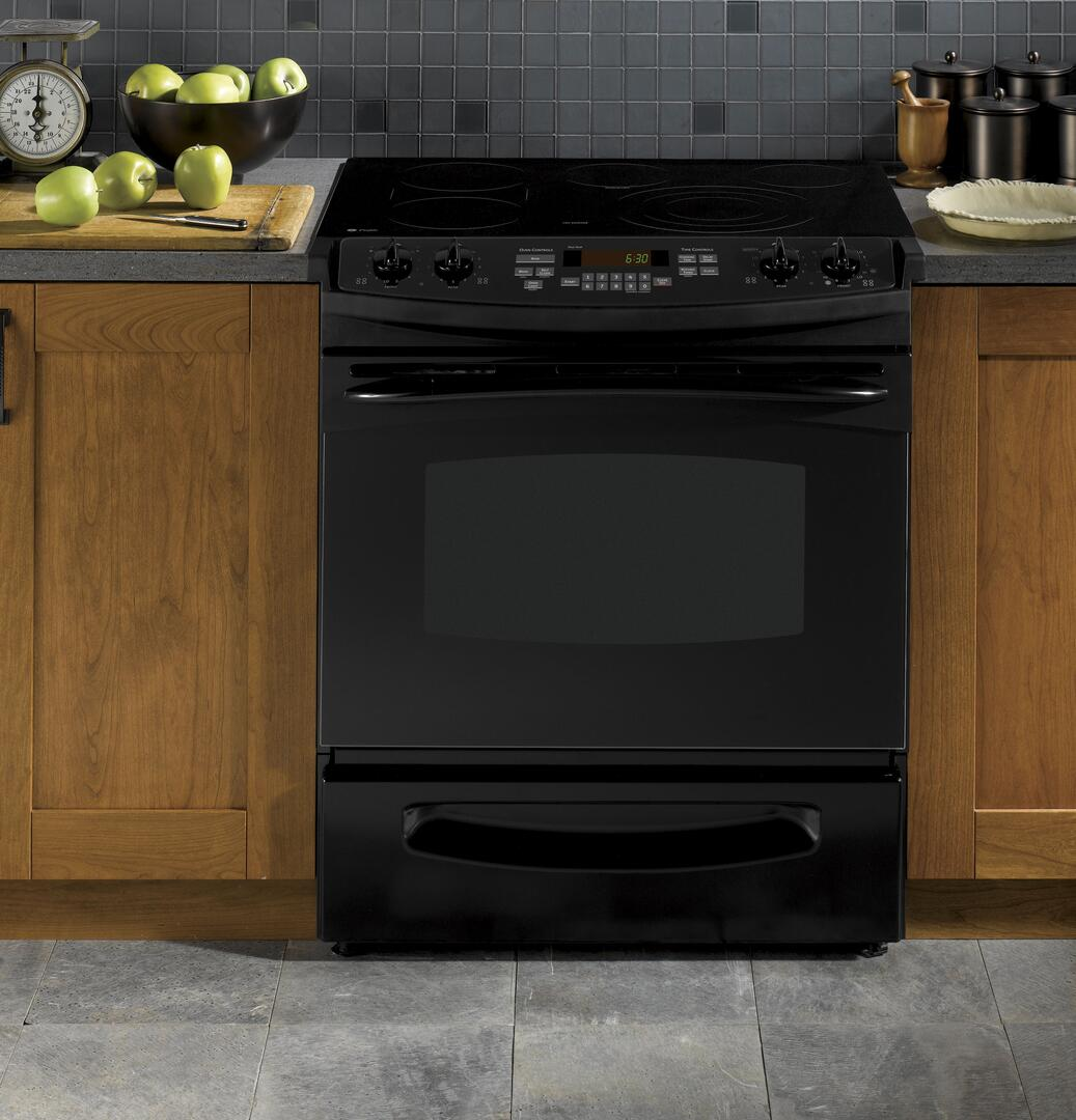 Ge Ps905dpbb Profile Series Slide In Electric Range With