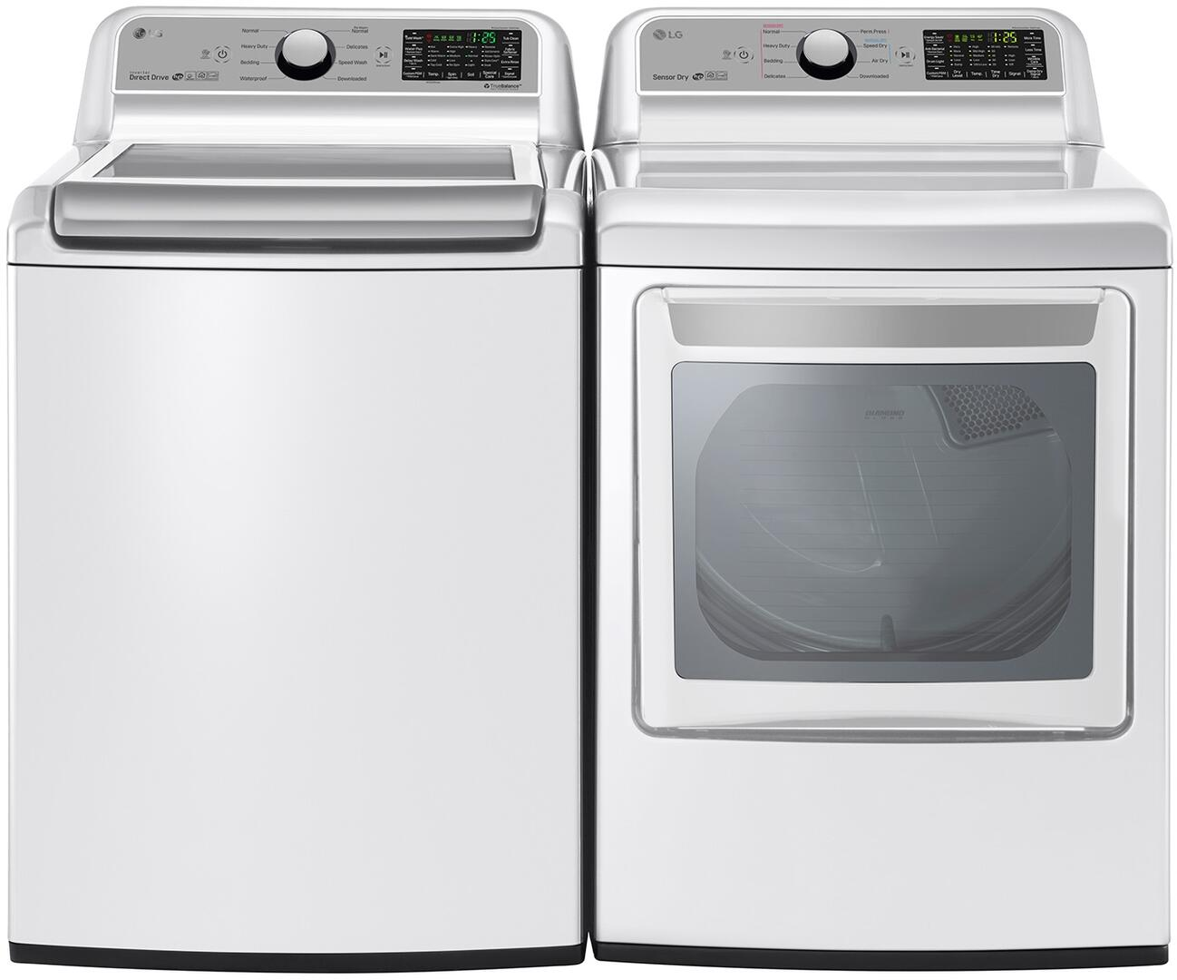 Lg 754197 Washer And Dryer Combos Appliances Connection