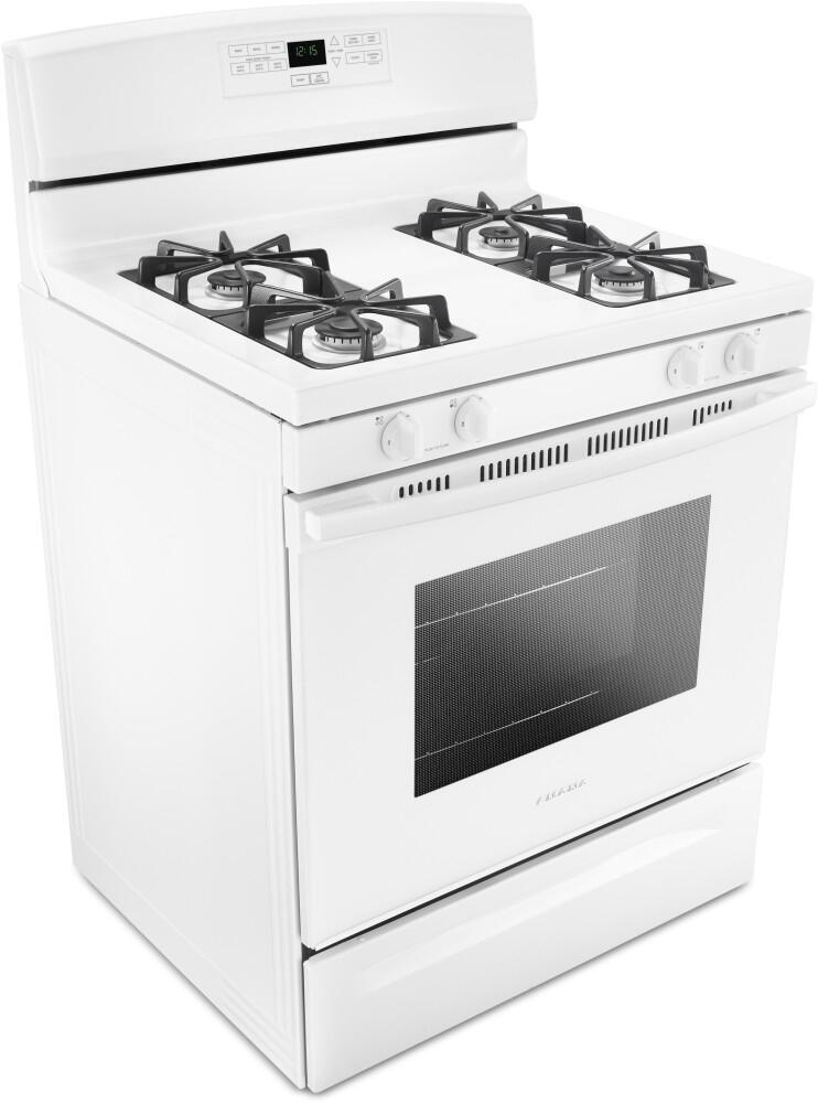 Amana Draft Down Cooktops ~ Amana agr mfw inch gas freestanding range with