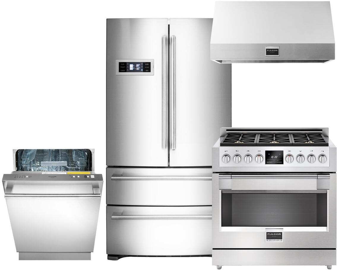 Fulgor Milano 689596 600 Kitchen Appliance Packages | Appliances ...