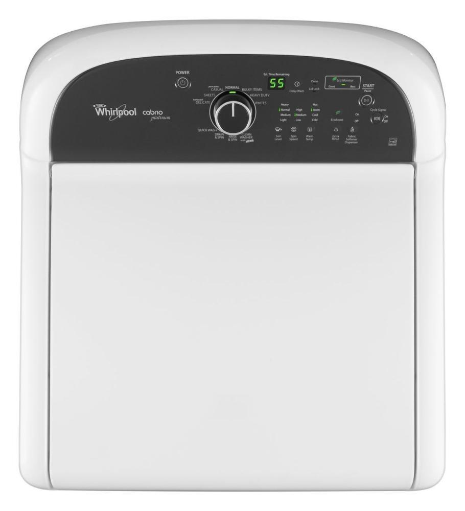 Whirlpool Wtw8000bw Cabrio Series 4 5 Cu Ft Top Load