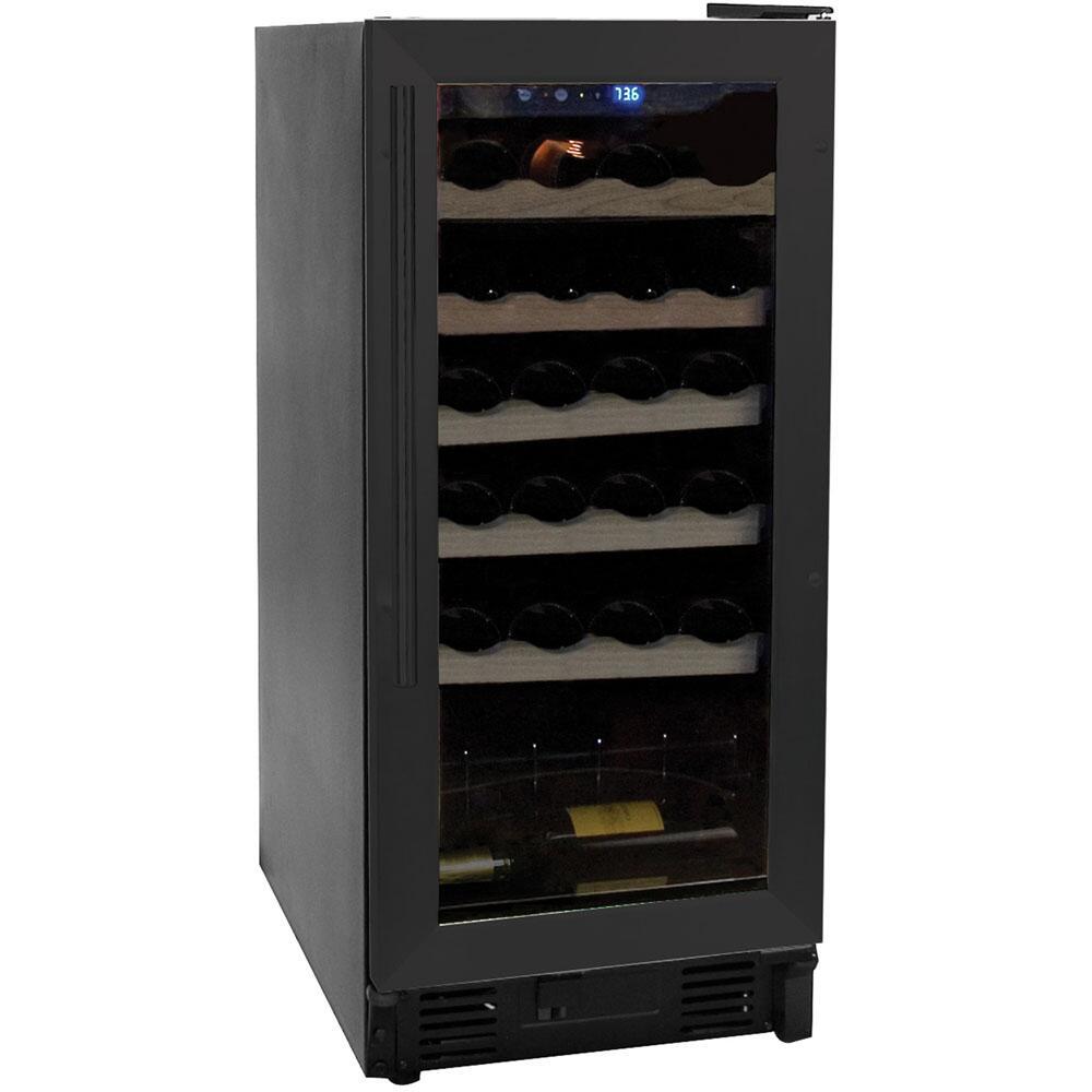 haier hvce15dbh inch built in wine cooler. Black Bedroom Furniture Sets. Home Design Ideas