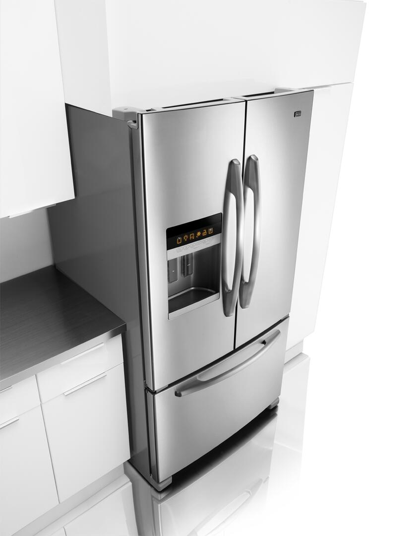 Maytag MFI2665XEM Ice20 Series French Door Refrigerator with 25.5 cu ...