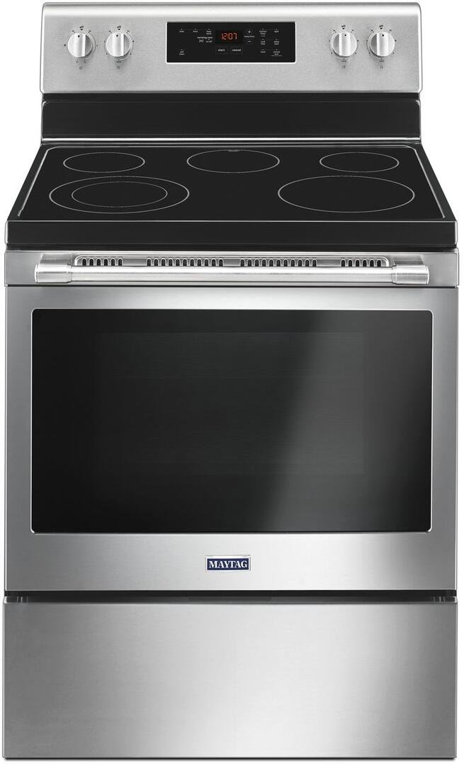 Maytag Mer6600fz 30 Inch Electric Freestanding Range With