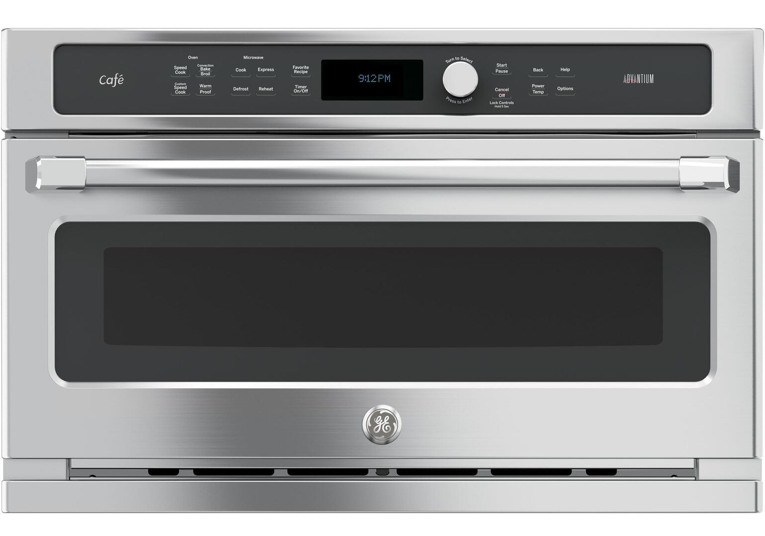 Ge Cafe Csb9120sjss 30 Inch Stainless Steel Single Wall