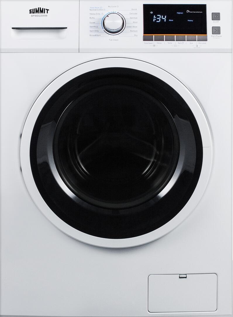 Summit Spwd2200w 23 38 Inch Washer Dryer Combo