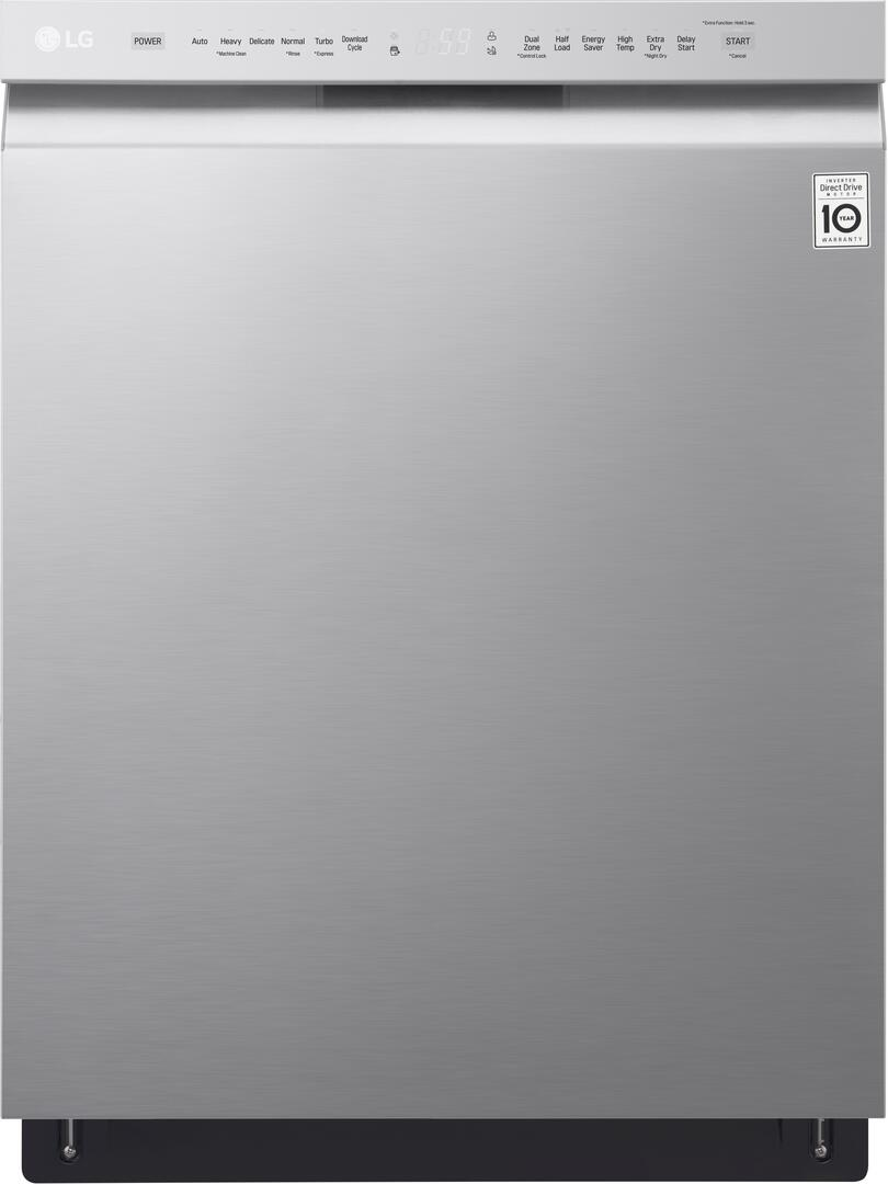 LG LDF5545ST 24 Inch Built In Full Console Dishwasher