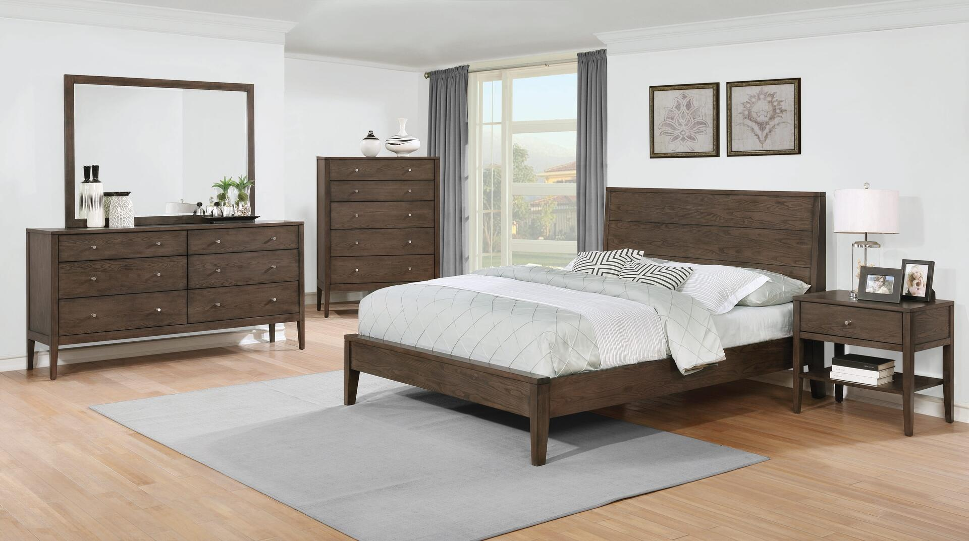 Awesome Coaster Lompoc 5 Piece King Size Bedroom Set Download Free Architecture Designs Photstoregrimeyleaguecom