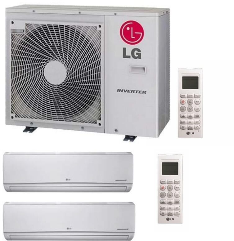 lg 730318 dual zone mini split air conditioners appliances connection. Black Bedroom Furniture Sets. Home Design Ideas