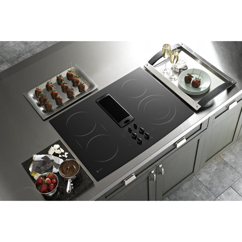 Ge Profile Pp989dnbb Profile Series Electric Cooktop In