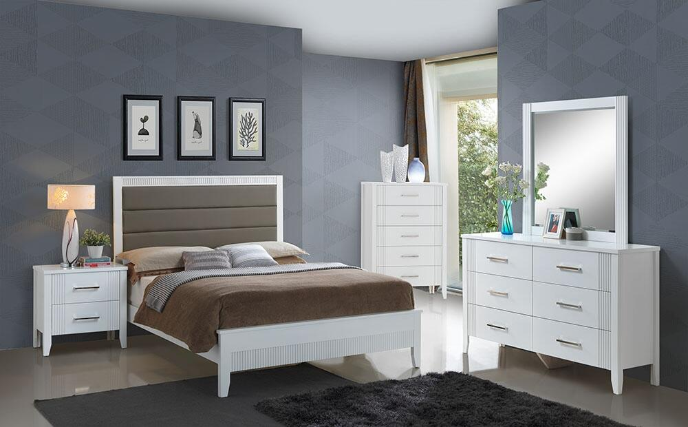 Glory Furniture G5305AKB Portland Series King Size Panel Bed ...