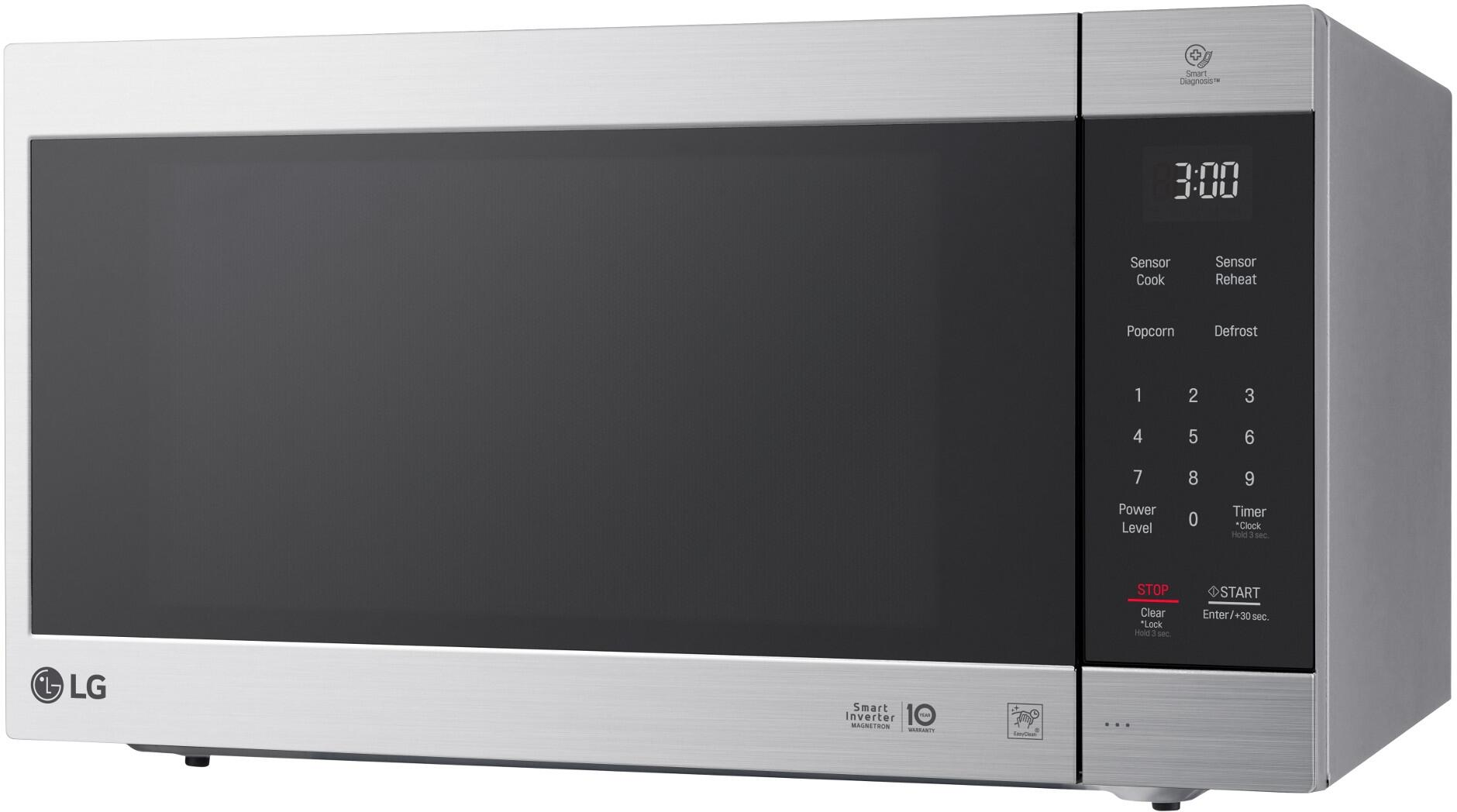 microwave com ft dining white oven cu with countertop kitchen dp easyclean amazon lg