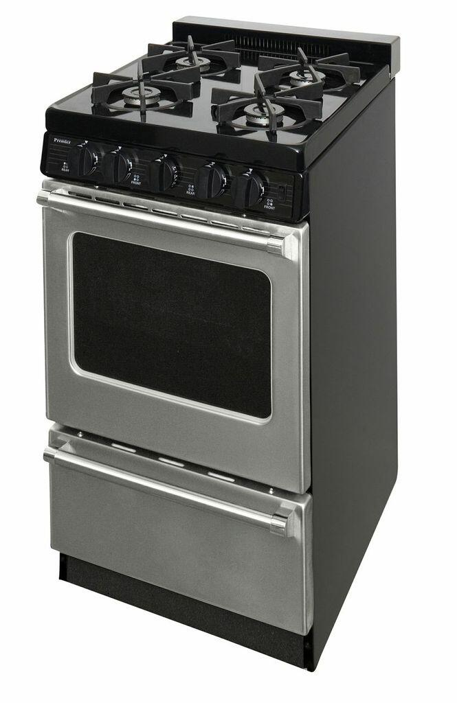 Premier P20s3102p 20 Inch Slide In Gas Range With Sealed