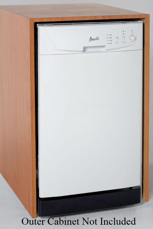 Avanti Dwe1800w 18 Inch Built In Full Console Dishwasher