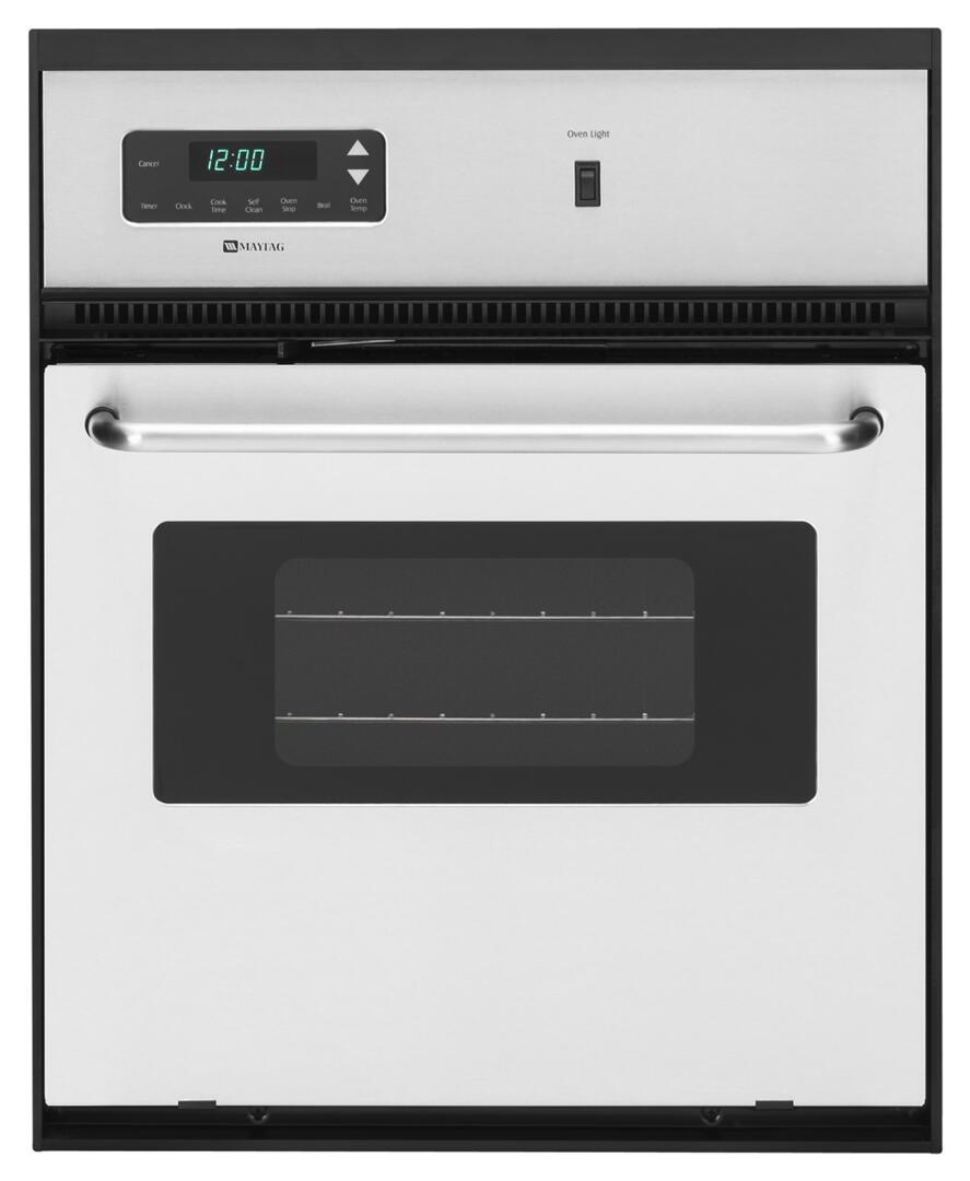 Maytag CWE4800ACS 24 Inch Single Wall Oven , in Stainless ...