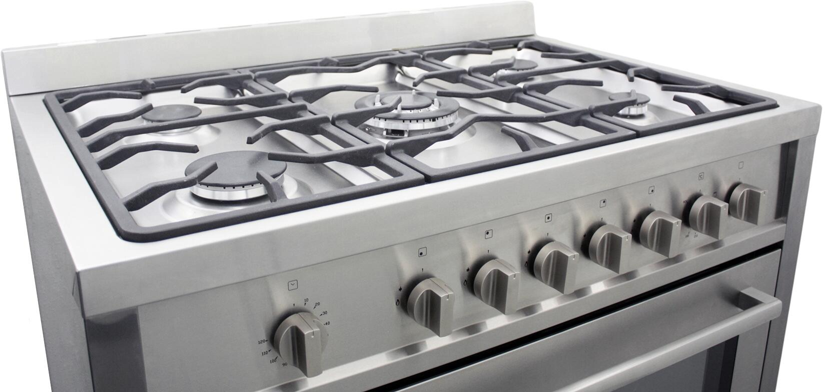 Kitchen gas stove top view - Cosmo Main Image Cosmo Cooktop Cosmo Angled View