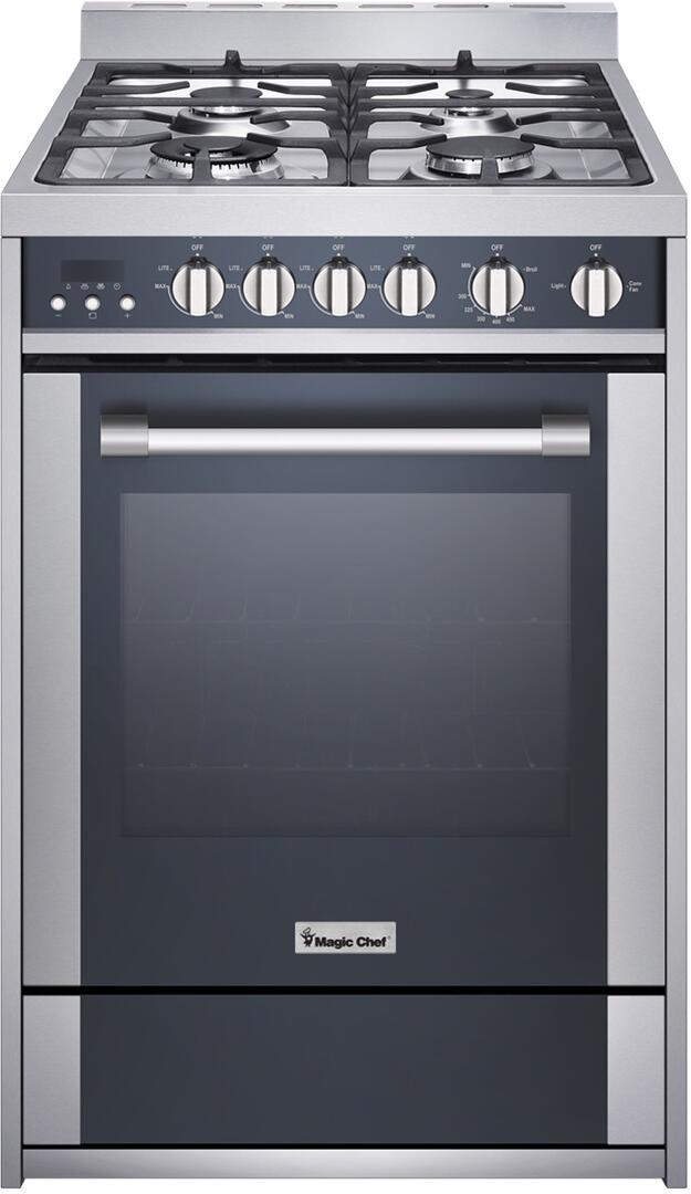 Magic Chef MCSRG24S 24 Inch Gas Freestanding Range on