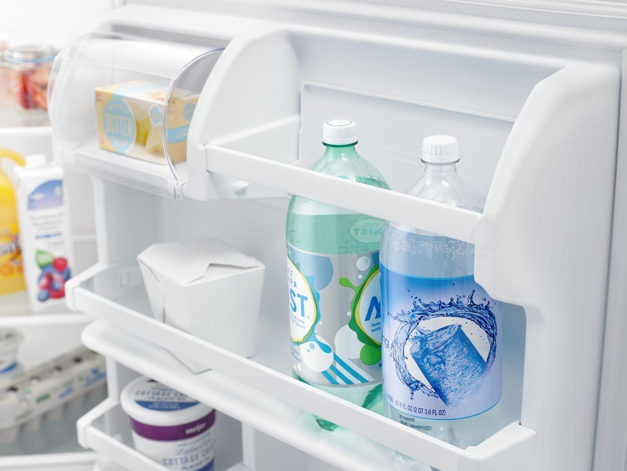 Amana Art318ffdw 30 Inch White Refrigerator With 182 Cu Ft Wiring Diagram On Oil Furnace Older 4