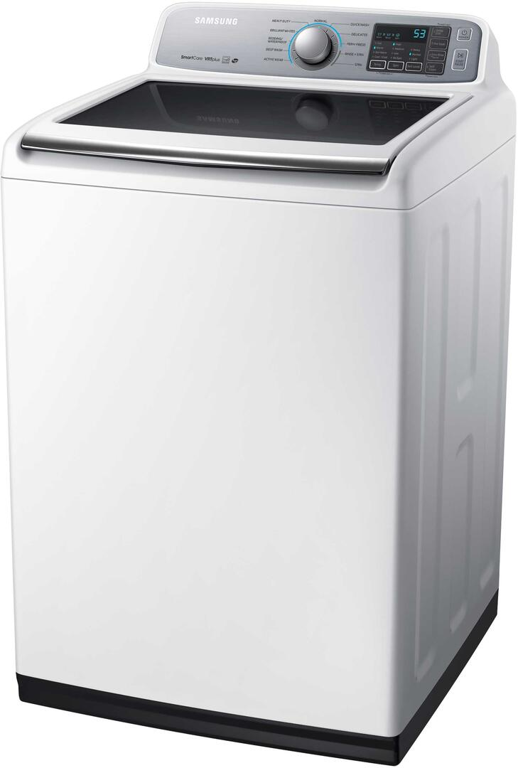 Samsung WA50M7450AW 5 cu. ft. Top Load Washer, in White   Appliances Connection