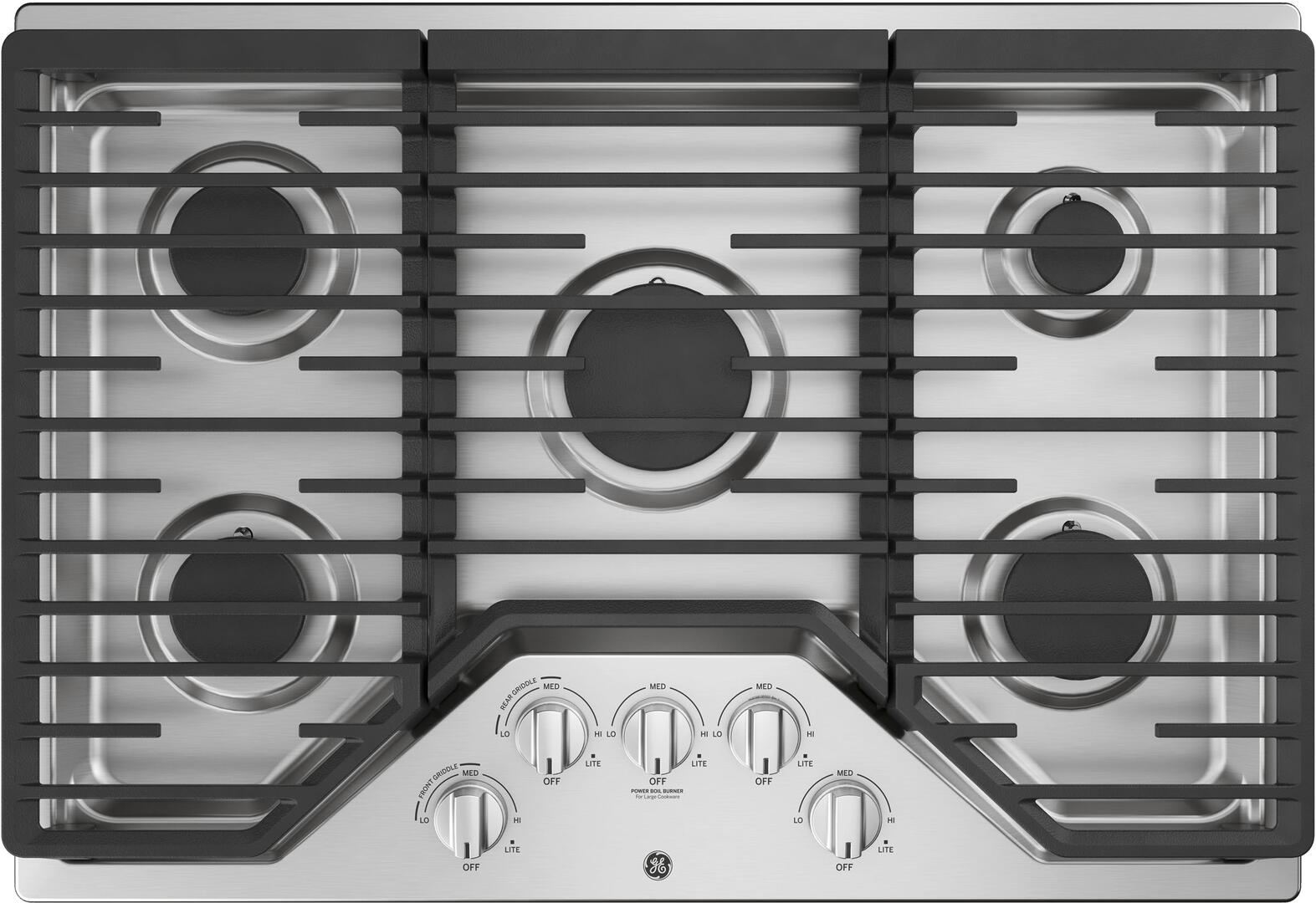 Ge Jgp5030slss 30 Inch Stainless Steel Gas Sealed Burner