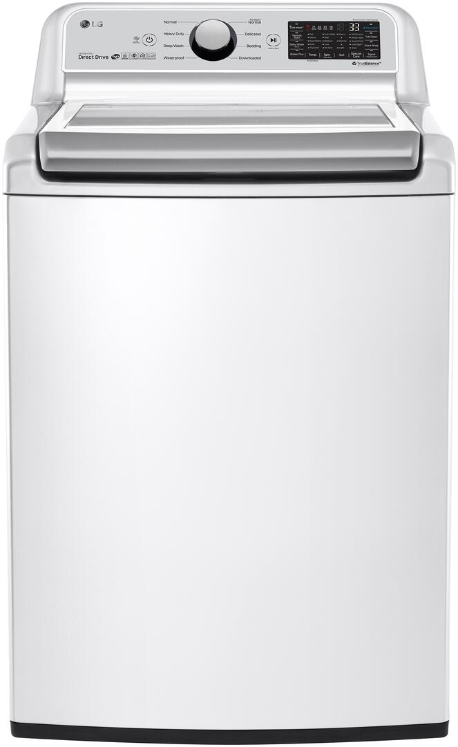 LG WT7300CW 5 0 cu  ft  27 Inch Top Load Washer