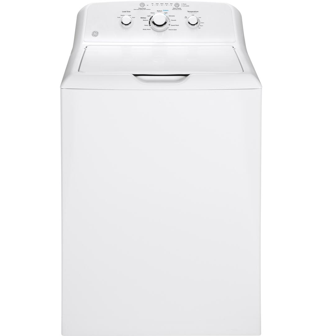 GE GTW330ASKWW 3 8 cu  ft  27 Inch Top Load Washer