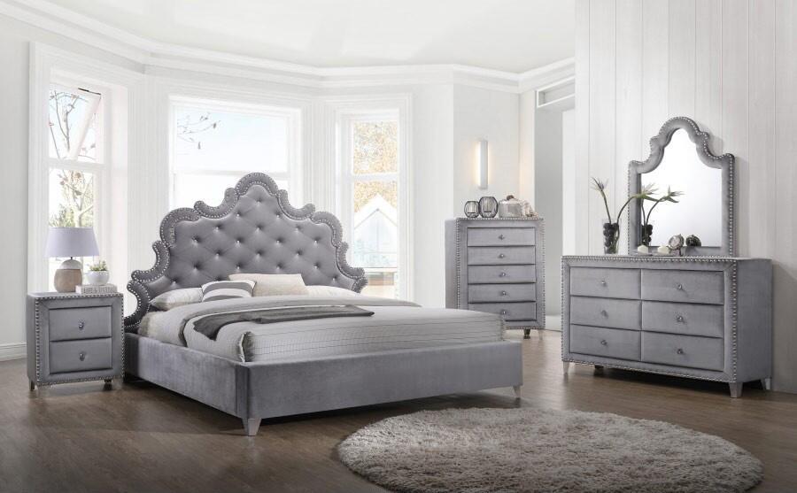 Meridian Sophie 4 Piece King Size Bedroom Set