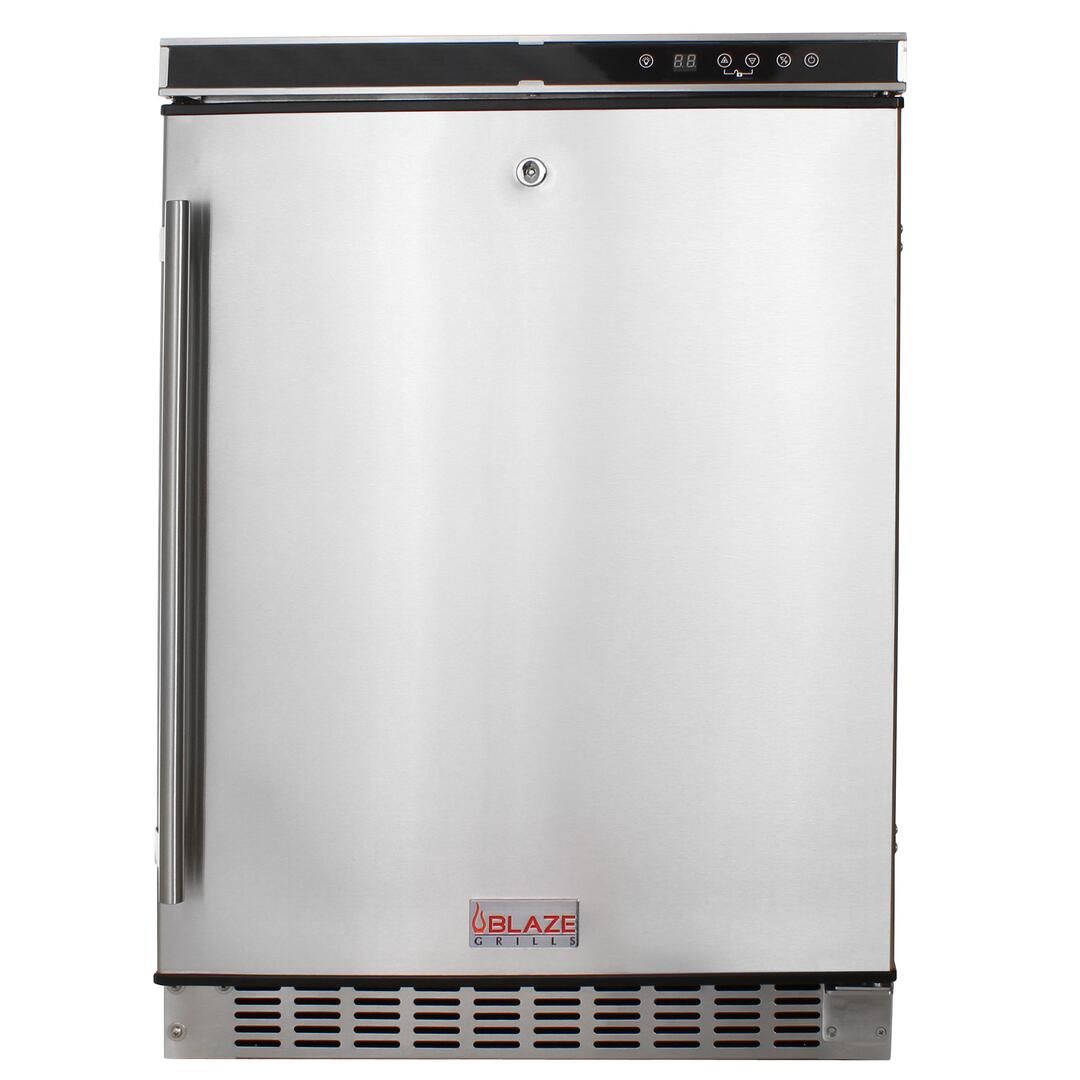 Blaze blzssrf50d built in outdoor refrigerator for Outdoor kitchen refrigerators built in