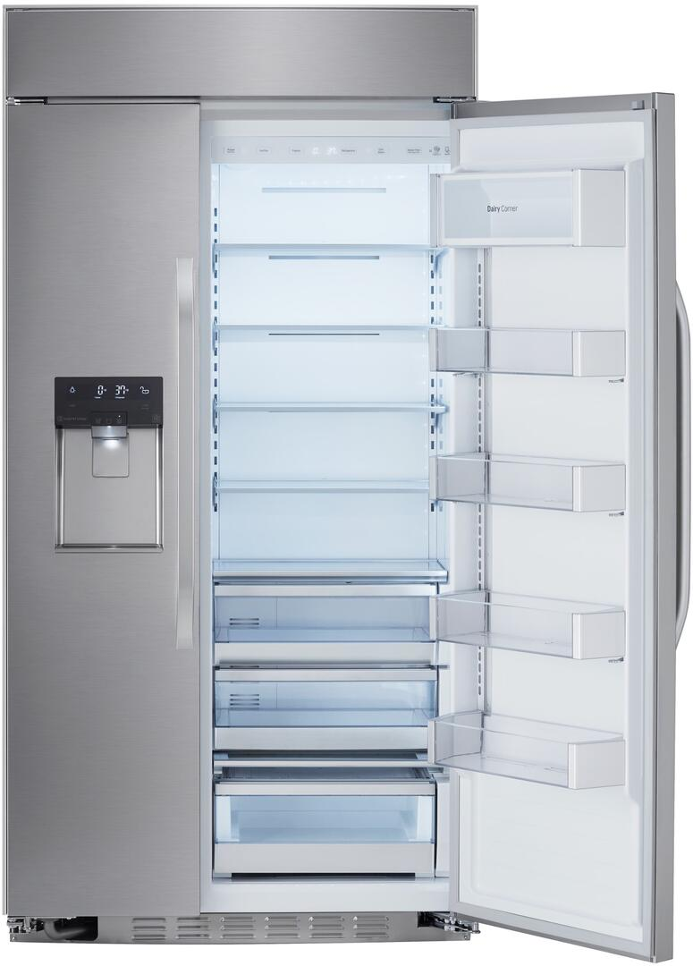 Largest Capacity Refrigerator Lg Studio Lssb2692st 42 Inch Side By Side Refrigerator With 256