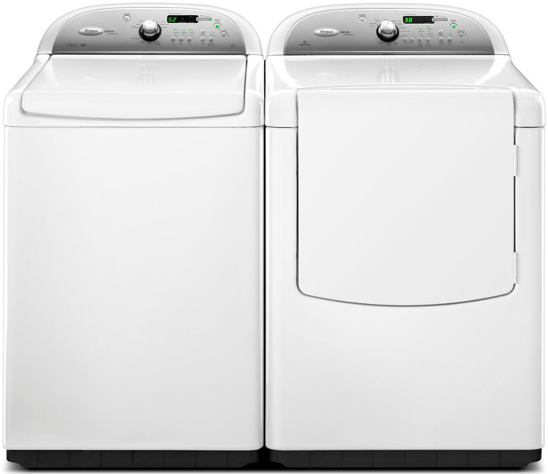 Whirlpool Wtw8200yw Cabrio Series White 4 6 Cu Ft Top Load Washer Appliances