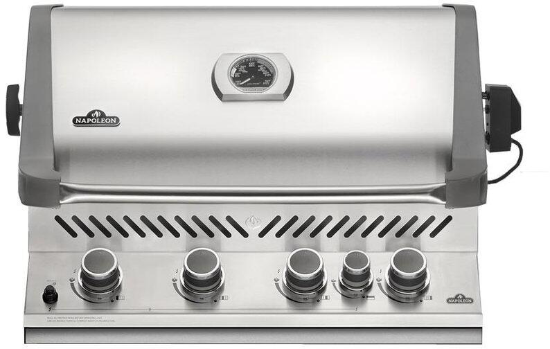 Napoleon bip500rbnss2 31 inch stainless steel built in grill napoleon prestige main image fandeluxe Choice Image