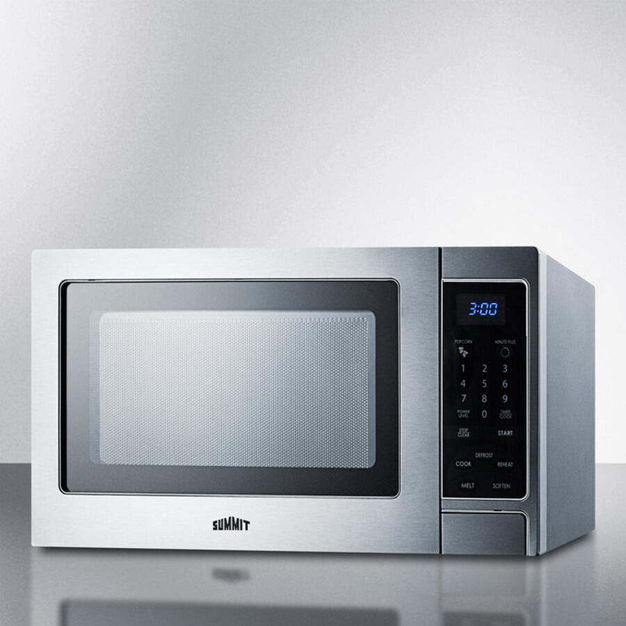 Summit SCM853 Stainless Steel Countertop Microwave | Appliances ...