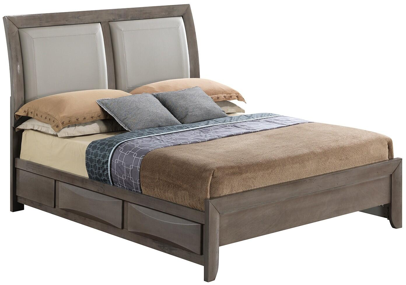 Glory furniture g1505ddksb2dmn g1505 king bedroom sets for Furniture connection