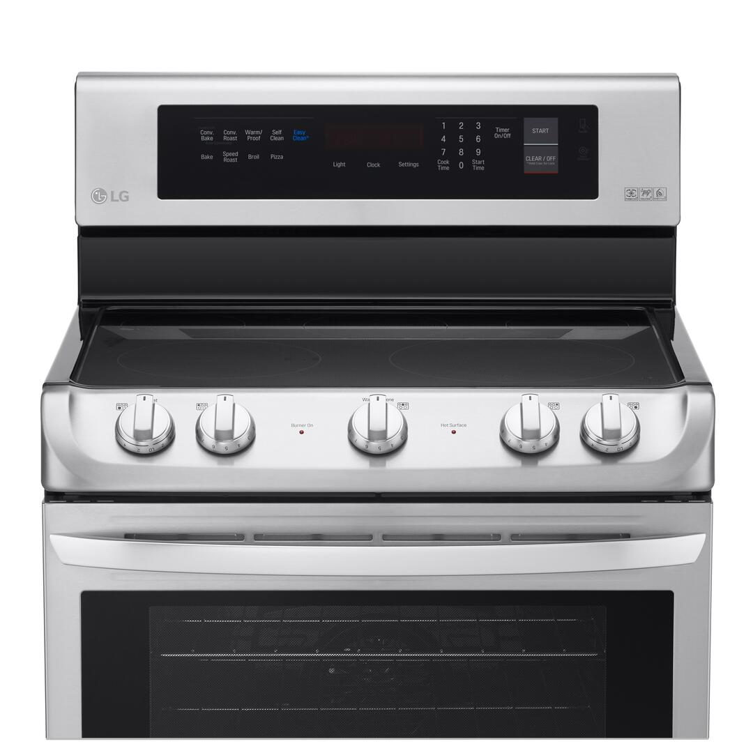 lg lre4213st 30 inch electric freestanding range with