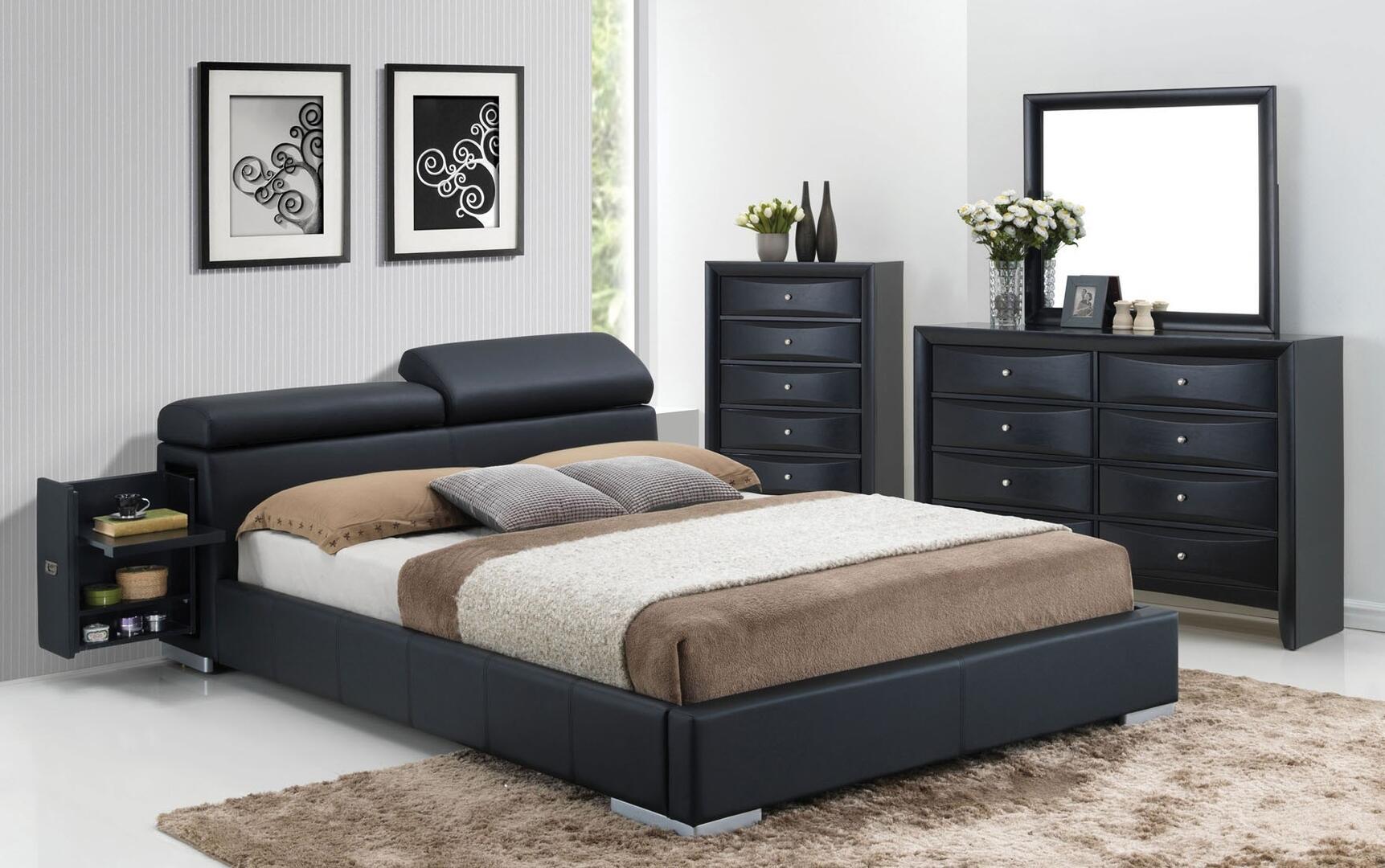 Acme Furniture Manjot 4 Piece Queen Size Bedroom Set