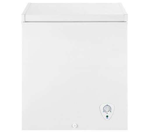 Frigidaire fffc05m1qw 29 inch chest counter depth freezer for 12 inch depth dresser