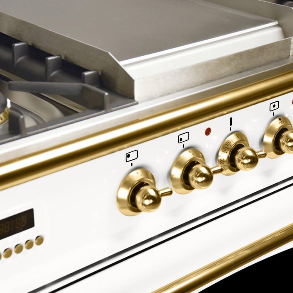 Hallman Hgr36bsawlp 36 Inch Gas Freestanding Range With