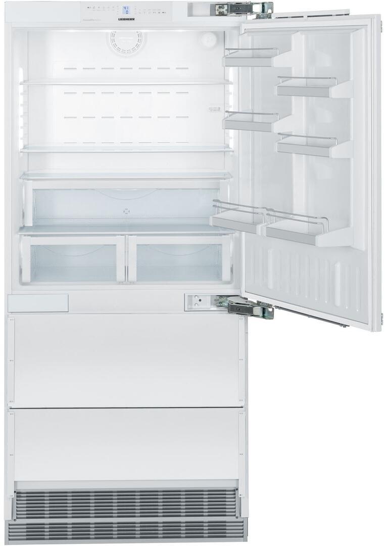 Liebherr Hc2060 36 Inch Panel Ready Counter Depth Bottom Freezer Alarm Circuit For Refrigerator Doors Main Image