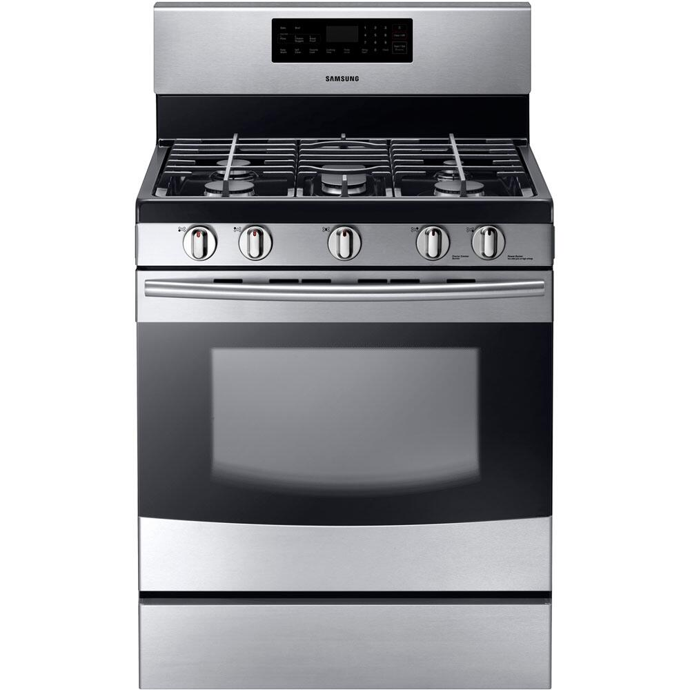 Samsung Nx58f5500ss 30 Inch Gas Freestanding Range With