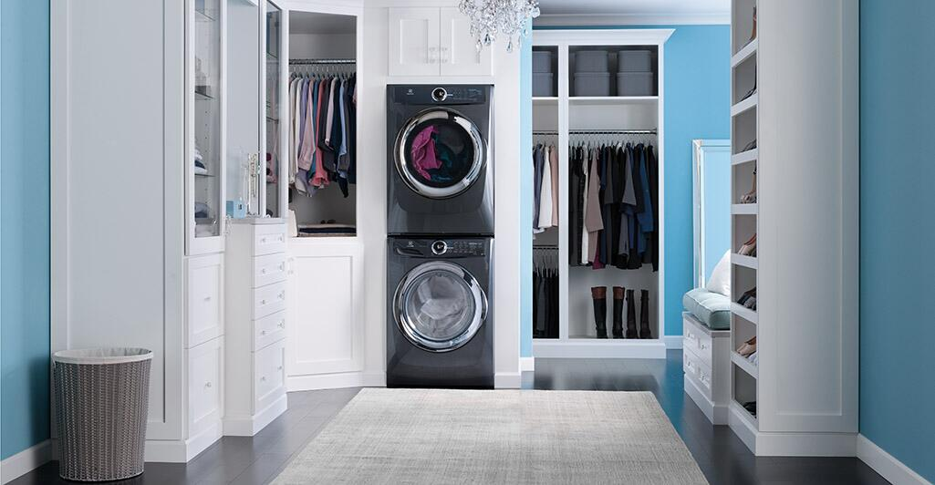 electrolux sample with washer dryer and stacking kit
