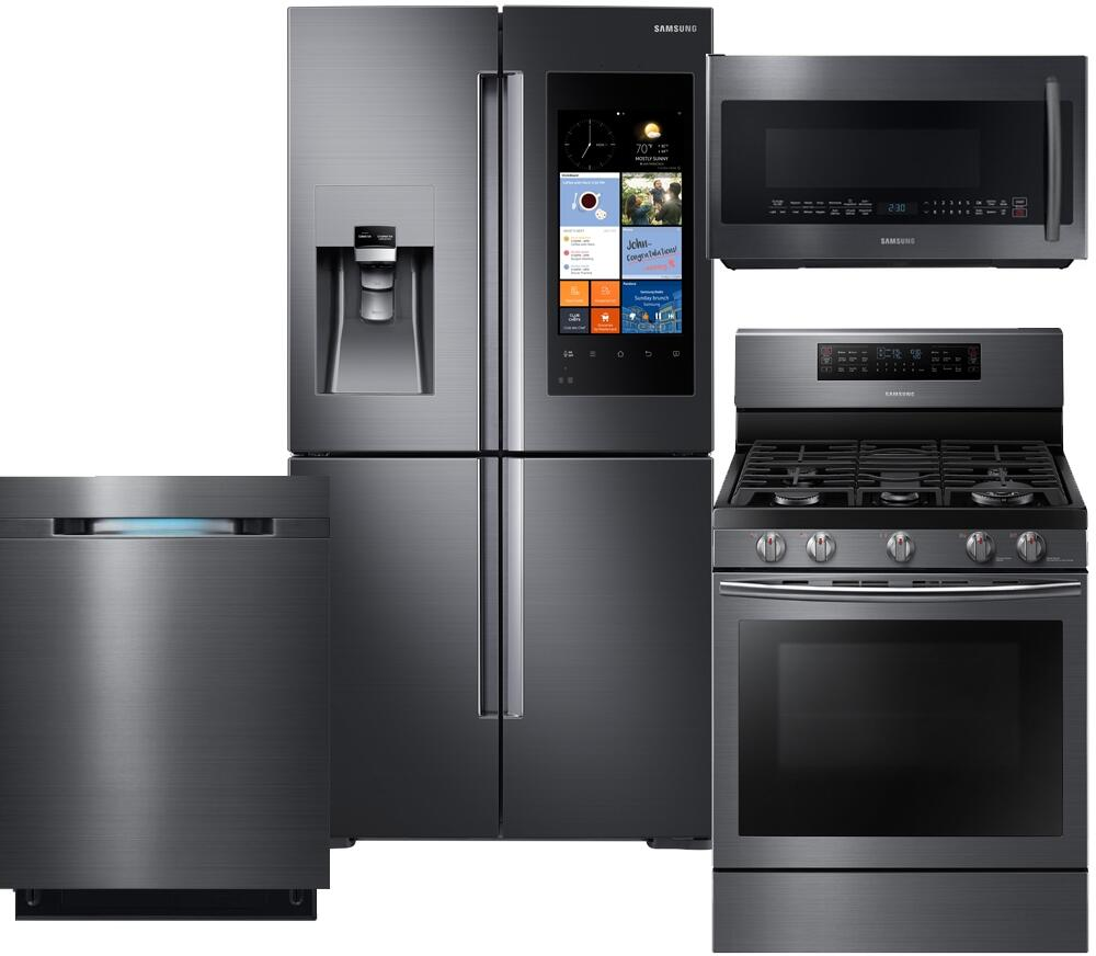Samsung 716554 Family Hub Kitchen Appliance Packages