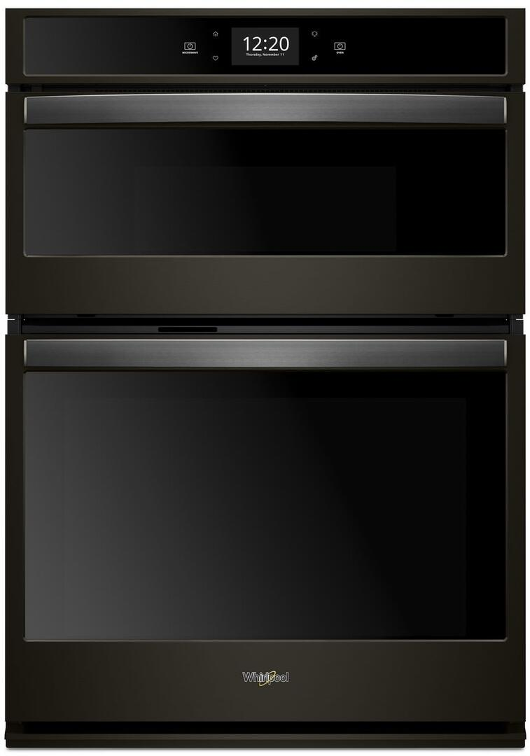 Whirlpool Woc75ec0hv 30 Inch Double Wall Oven In Black
