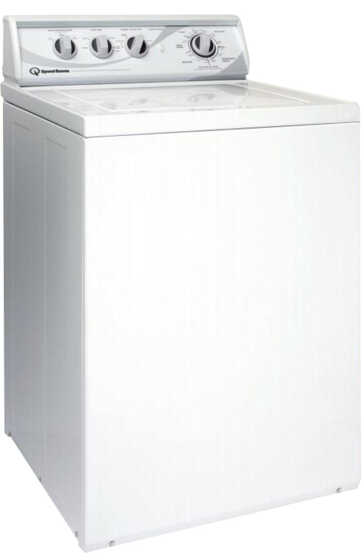 Speed Queen Awn432s 3 3 Cu Ft Top Load Washer In White Appliances