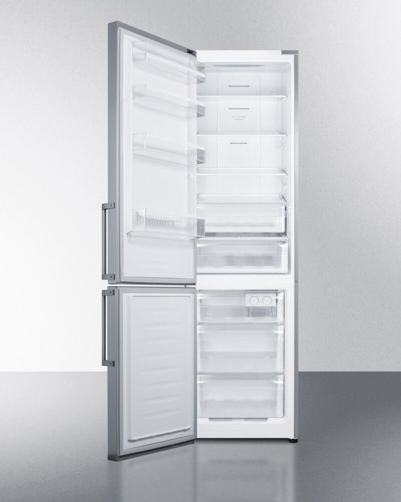 Summit FFBF191SSLHD 24 Inch Counter Depth Bottom Freezer ...